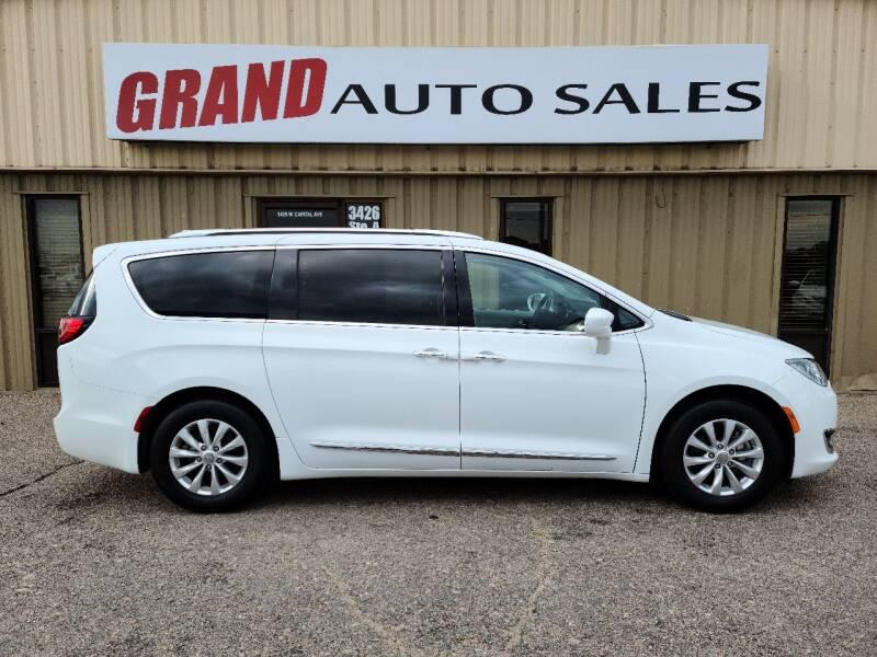 2019 Chrysler Pacifica for sale at GRAND AUTO SALES in Grand Island NE