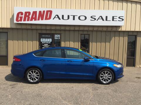 2017 Ford Fusion for sale at GRAND AUTO SALES in Grand Island NE