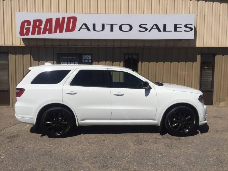 2017 Dodge Durango for sale at GRAND AUTO SALES in Grand Island NE