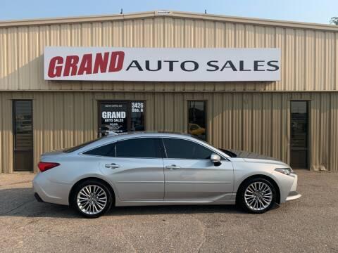 2019 Toyota Avalon for sale at GRAND AUTO SALES in Grand Island NE