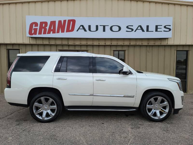 2015 Cadillac Escalade for sale at GRAND AUTO SALES in Grand Island NE
