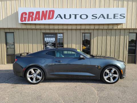 2017 Chevrolet Camaro for sale at GRAND AUTO SALES in Grand Island NE