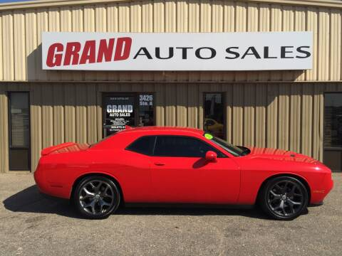 2015 Dodge Challenger for sale at GRAND AUTO SALES in Grand Island NE