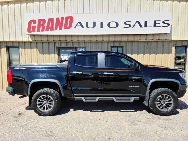 2017 Chevrolet Colorado for sale at GRAND AUTO SALES in Grand Island NE