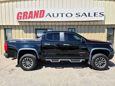 2017 Chevrolet Colorado for sale at GRAND AUTO SALES in Grand Island NE