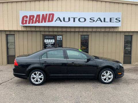 2012 Ford Fusion for sale at GRAND AUTO SALES in Grand Island NE