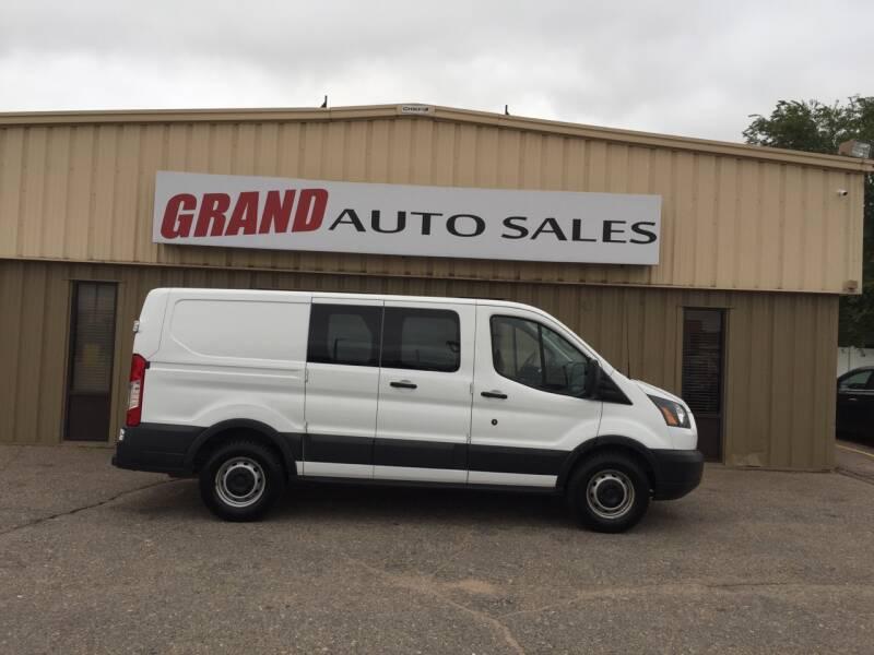 2015 Ford Transit Cargo for sale at GRAND AUTO SALES in Grand Island NE