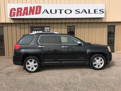 2011 GMC Terrain for sale at GRAND AUTO SALES in Grand Island NE