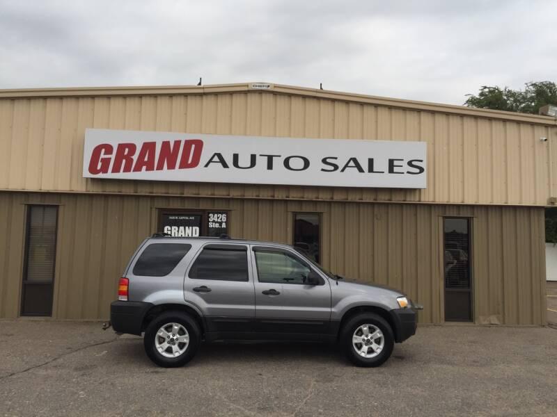 2007 Ford Escape for sale at GRAND AUTO SALES in Grand Island NE