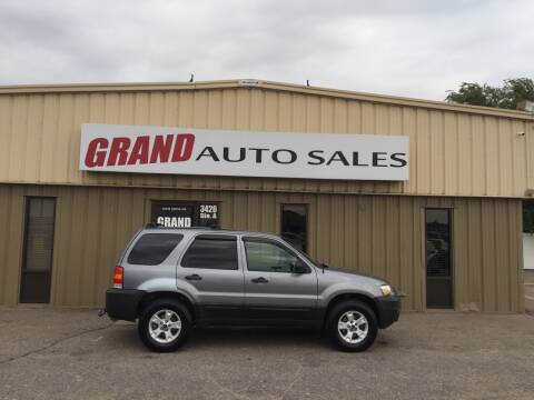 2007 Ford Escape for sale at GRAND AUTO SALES in Grand Island NE