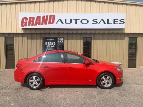 2012 Chevrolet Cruze for sale at GRAND AUTO SALES in Grand Island NE