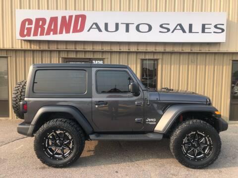 2020 Jeep Wrangler for sale at GRAND AUTO SALES in Grand Island NE