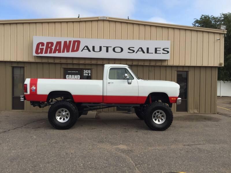 1991 Dodge RAM 250 for sale at GRAND AUTO SALES in Grand Island NE