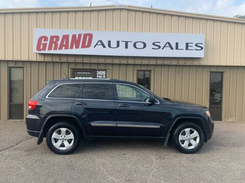 2013 Jeep Grand Cherokee for sale at GRAND AUTO SALES in Grand Island NE