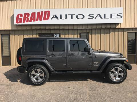 2018 Jeep Wrangler JK Unlimited for sale at GRAND AUTO SALES in Grand Island NE