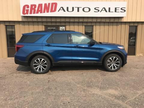 2020 Ford Explorer for sale at GRAND AUTO SALES in Grand Island NE