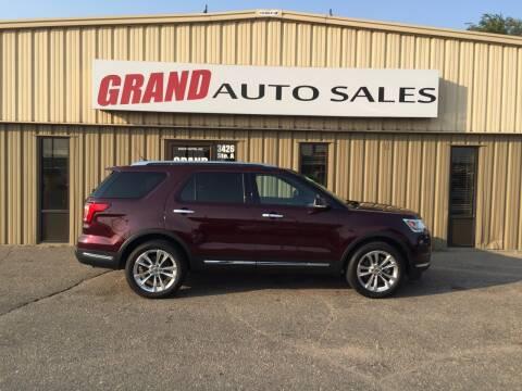 2018 Ford Explorer for sale at GRAND AUTO SALES in Grand Island NE