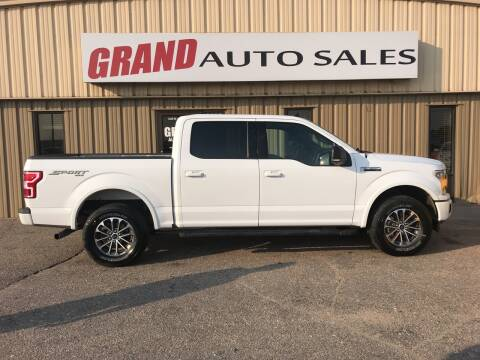 2019 Ford F-150 for sale at GRAND AUTO SALES in Grand Island NE