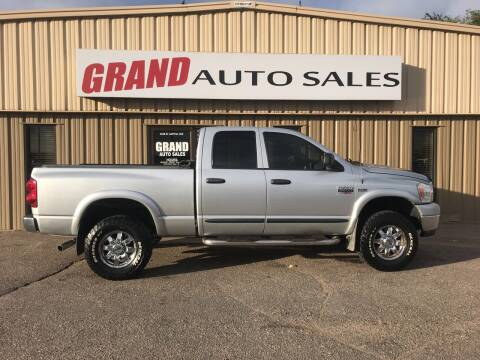 2007 Dodge Ram Pickup 2500 for sale at GRAND AUTO SALES in Grand Island NE