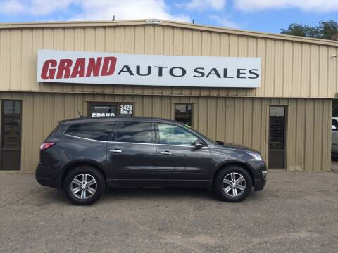 2016 Chevrolet Traverse for sale at GRAND AUTO SALES in Grand Island NE