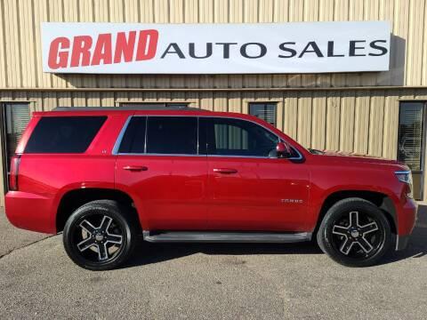 2015 Chevrolet Tahoe for sale at GRAND AUTO SALES in Grand Island NE
