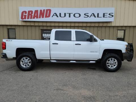 2015 Chevrolet Silverado 3500HD for sale at GRAND AUTO SALES in Grand Island NE