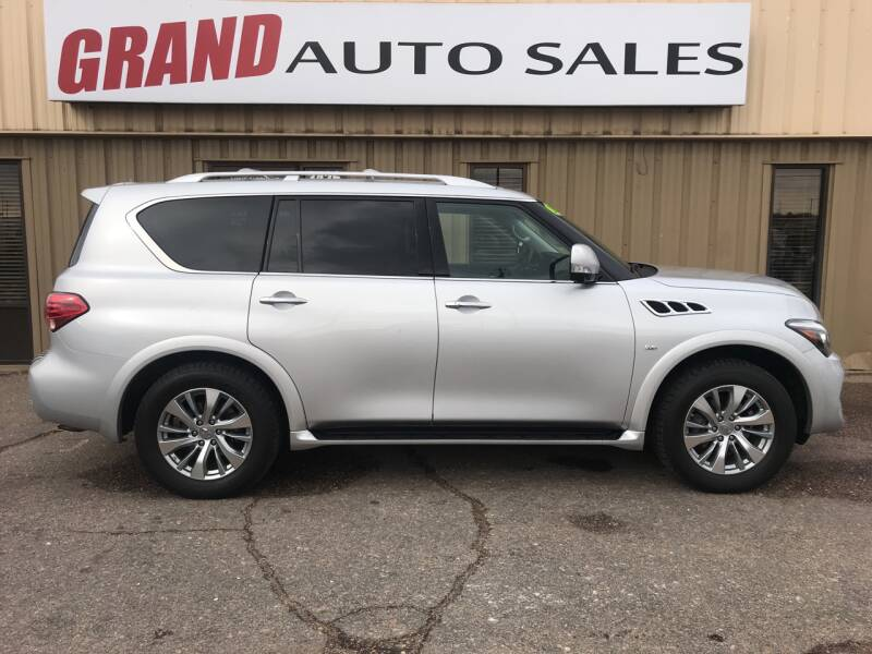 2016 Infiniti QX80 for sale at GRAND AUTO SALES in Grand Island NE