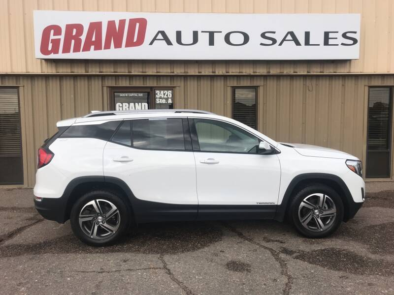 2019 GMC Terrain for sale at GRAND AUTO SALES in Grand Island NE