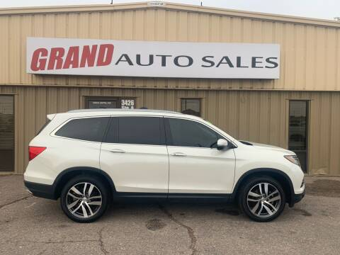 2018 Honda Pilot for sale at GRAND AUTO SALES in Grand Island NE