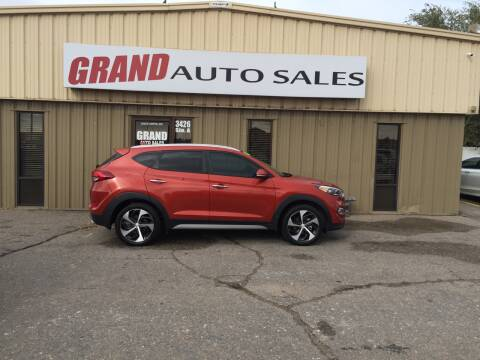2017 Hyundai Tucson for sale at GRAND AUTO SALES in Grand Island NE