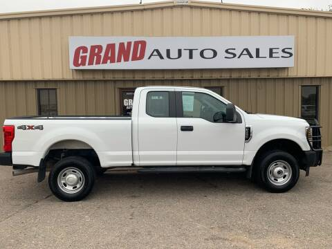 2018 Ford F-250 Super Duty for sale at GRAND AUTO SALES in Grand Island NE