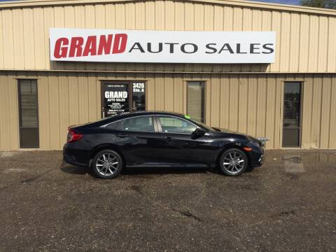 2019 Honda Civic for sale at GRAND AUTO SALES in Grand Island NE
