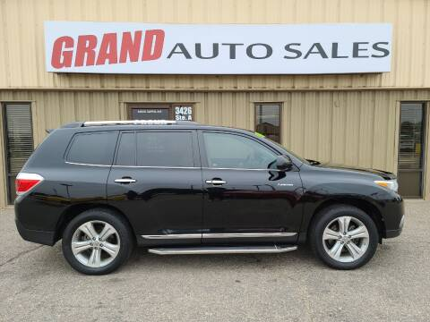 2013 Toyota Highlander for sale at GRAND AUTO SALES in Grand Island NE