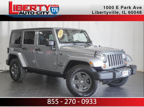 2013 Jeep Wrangler Unlimited for sale in Libertyville, IL