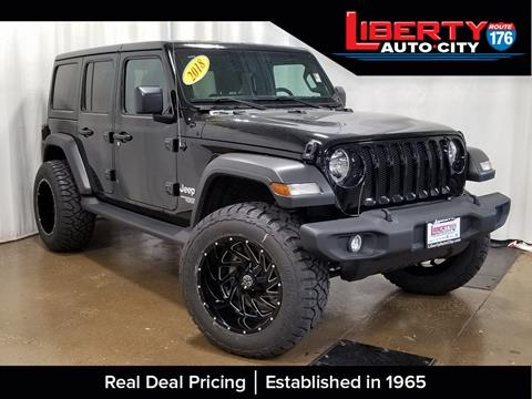 2018 Jeep Wrangler Unlimited for sale in Libertyville, IL