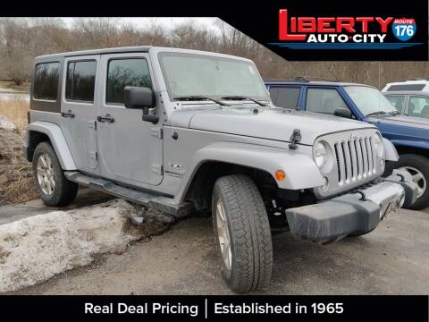2016 Jeep Wrangler Unlimited for sale at Liberty Auto City in Libertyville IL