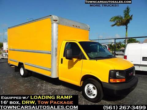 2013 GMC Savana Cargo for sale in West Palm Beach, FL