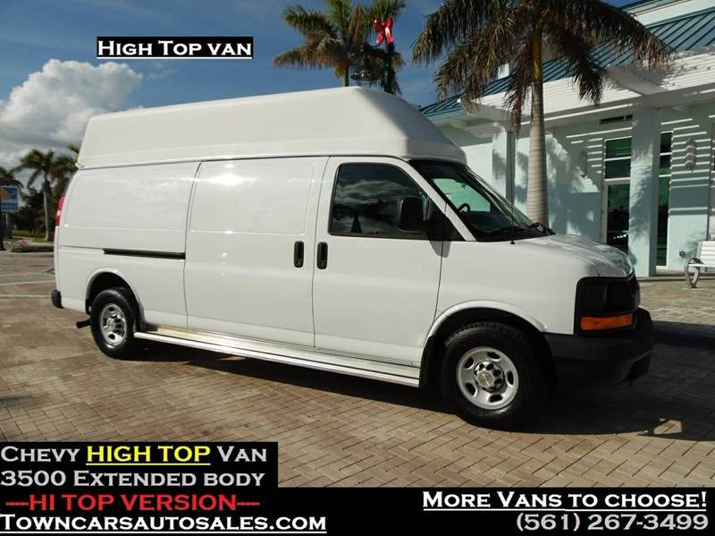 2014 Chevrolet Express Cargo For Sale At TOWN CARS AUTO SALES In West Palm Beach FL