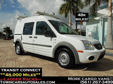Used 2013 Ford Transit Connect Cargo For Sale In Cincinnati Oh