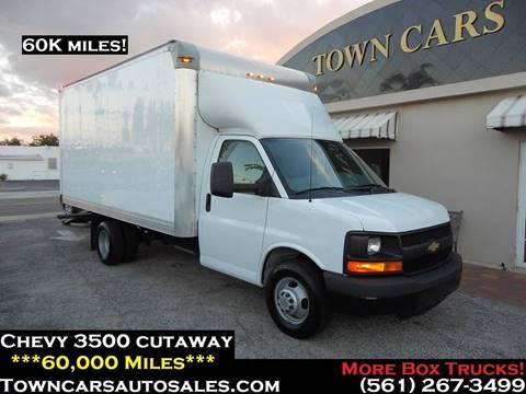 2013 Chevrolet Express Cutaway for sale in West Palm Beach, FL