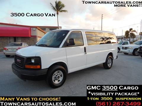 0712efa902 2013 GMC Savana Cargo for sale in West Palm Beach