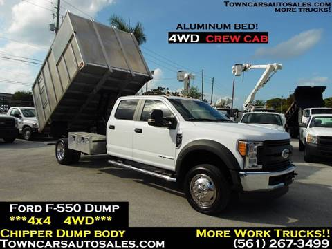 2017 Ford F-550 Super Duty for sale in West Palm Beach, FL