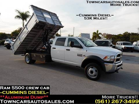 2015 RAM Ram Chassis 5500 for sale in West Palm Beach, FL