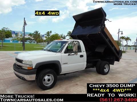 2002 Chevrolet Silverado 3500 for sale in West Palm Beach, FL