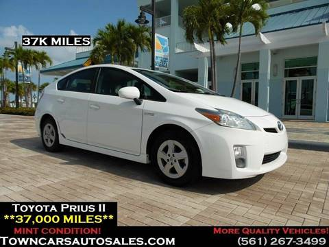 2010 Toyota Prius for sale at Town Cars Auto Sales in West Palm Beach FL