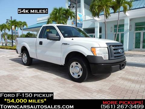 2009 Ford F-150 for sale at Town Cars Auto Sales in West Palm Beach FL