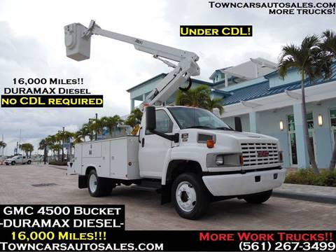 2006 GMC C4500 for sale in West Palm Beach, FL
