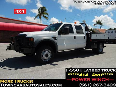 2009 Ford F-550 Super Duty for sale in West Palm Beach, FL