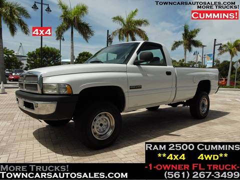 Pickup Truck For Sale in West Palm Beach, FL - Town Cars Auto Sales