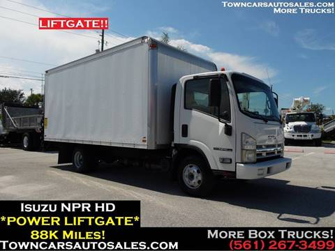 2010 Isuzu NPR-HD for sale at Town Cars Auto Sales in West Palm Beach FL